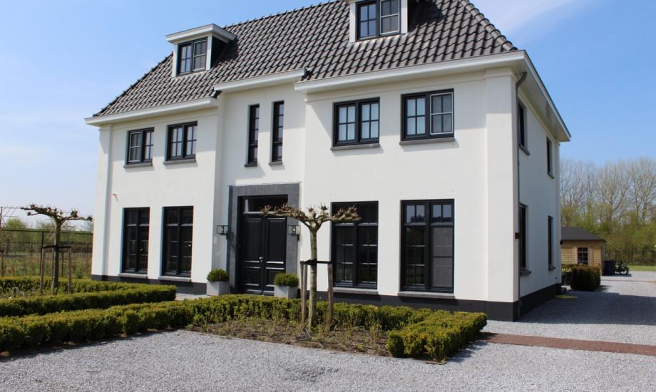 Eigentijdse witte villa - Mooi huis ...
