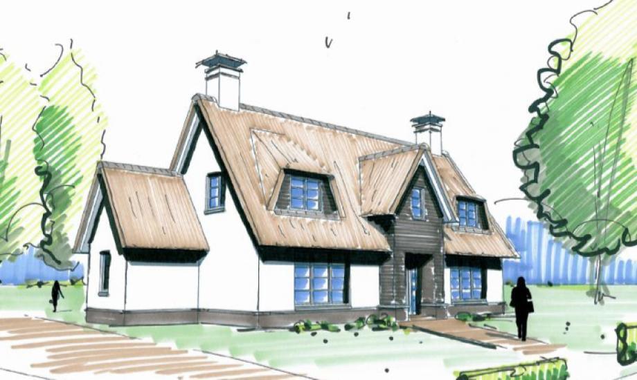 Villa ontwerpen for Je eigen woonkamer ontwerpen